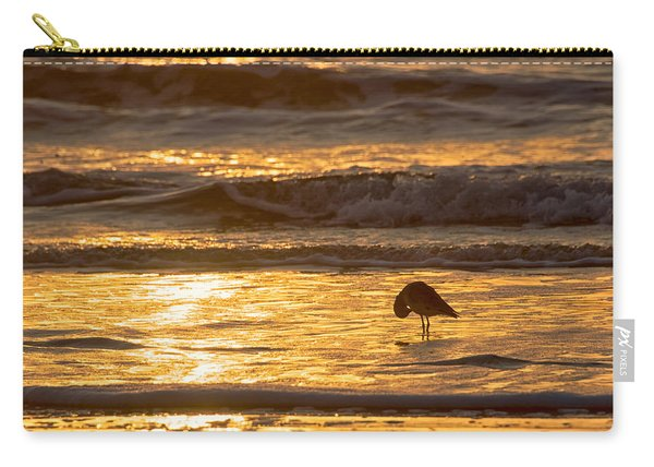 Carry-all Pouch featuring the photograph Sun Salutation by Mary Lee Dereske