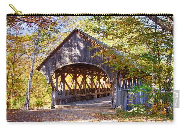 Sunday River Covered Bridge Carry-all Pouch