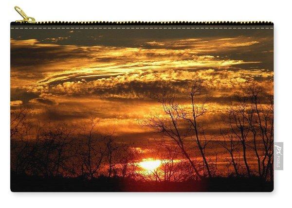 Sundown On The Farm Carry-all Pouch