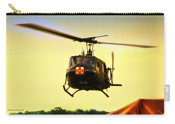 Sundown On The Medevac Carry-all Pouch