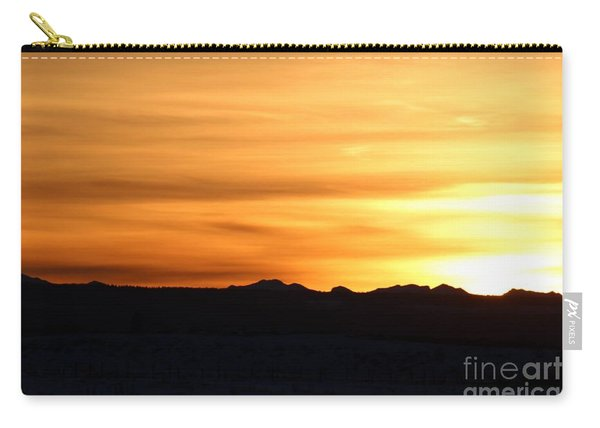 Sundre Sunset Carry-all Pouch