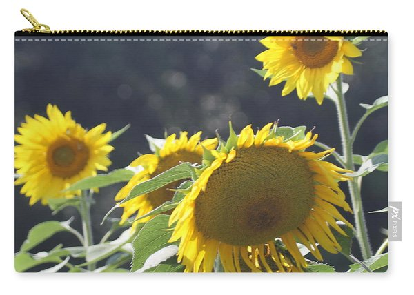 Sunflower Cluster 2 Carry-all Pouch