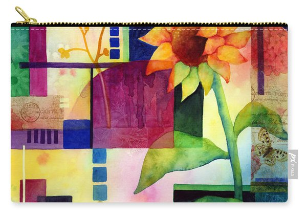 Sunflower Collage 2 Carry-all Pouch