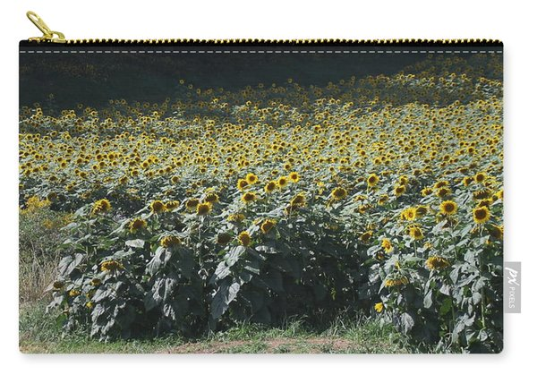 Sunflower Fields 2 Carry-all Pouch
