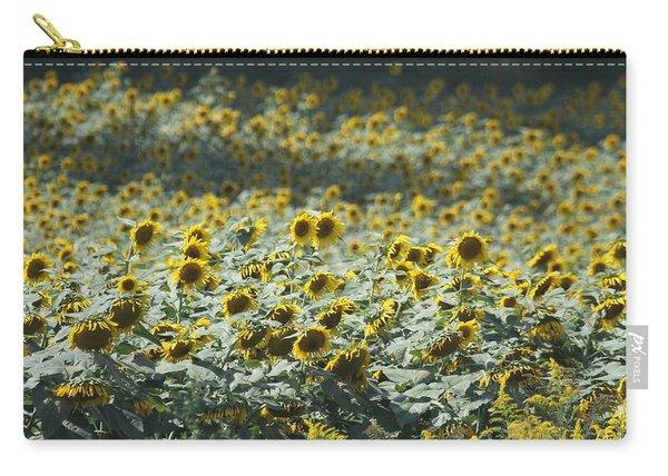 Sunflower Fields 8 Carry-all Pouch