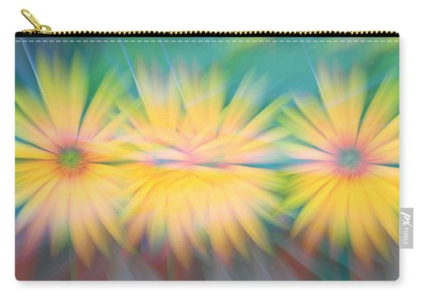 Sunflower Garden Abstract Carry-all Pouch