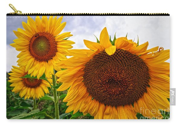 Sunflower Mama And Her Daughters  Carry-all Pouch