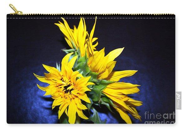 Sunflower Portrait Carry-all Pouch