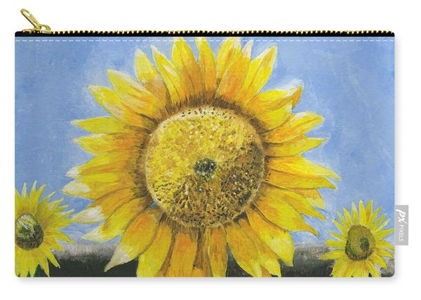 Sunflower Series One Carry-all Pouch