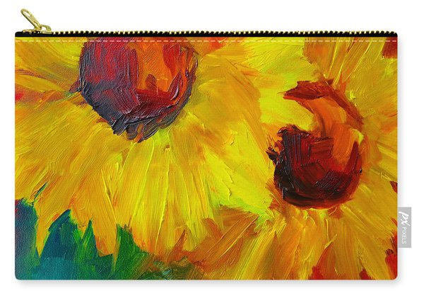 Joyful Floral Carry-all Pouch
