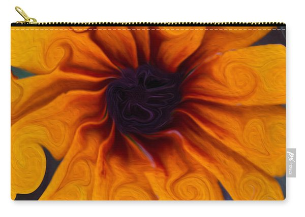 Sunflowers On Psychadelics Carry-all Pouch