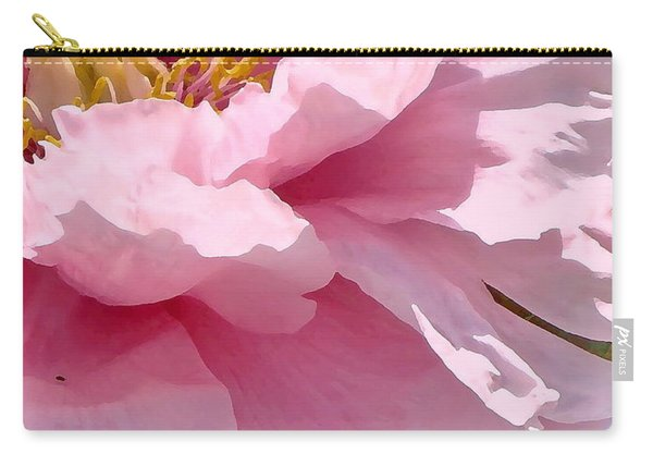 Sunkissed Peonies 1 Carry-all Pouch