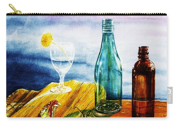 Sunlit Bottles Carry-all Pouch