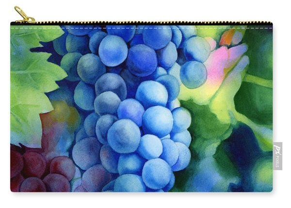 Sunlit Grapes Carry-all Pouch