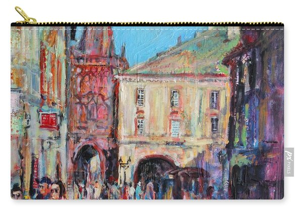Sunny Side  Prague Carry-all Pouch