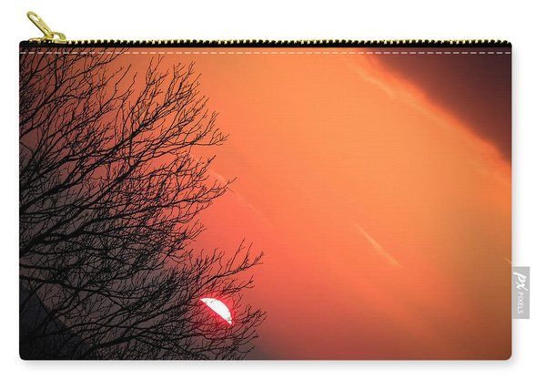 Sunrise And Hibernating Tree Carry-all Pouch