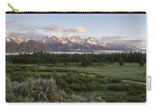 Sunrise At Grand Teton Carry-all Pouch