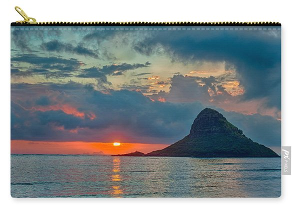 Sunrise At Kualoa Park Carry-all Pouch