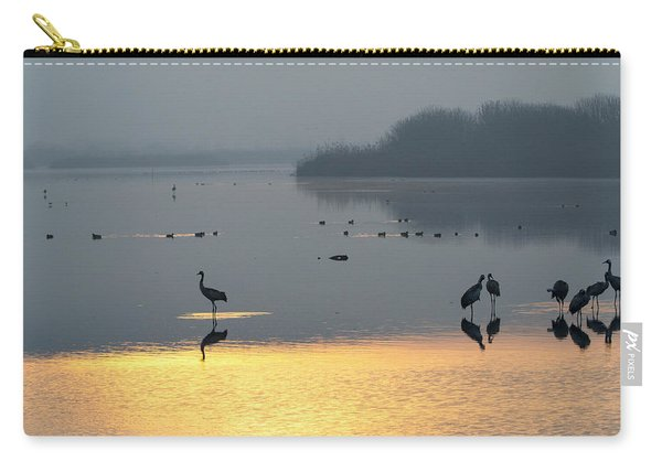 Sunrise Over The Hula Valley Israel 1 Carry-all Pouch