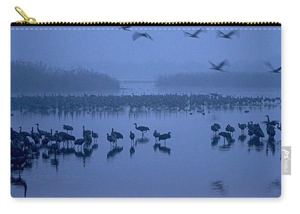 Sunrise Over The Hula Valley Israel 4 Carry-all Pouch