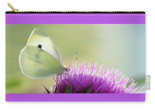 Sunrise In The Thistle Fields Carry-all Pouch