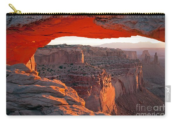 Sunrise Mesa Arch Canyonlands National Park Carry-all Pouch