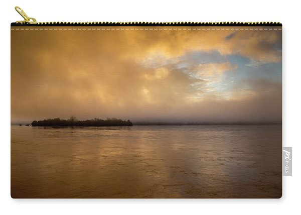 Sunrise On Don Khong Island Carry-all Pouch