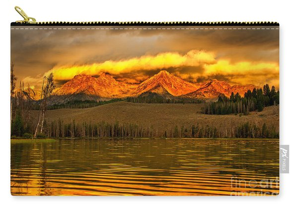 Sunrise On Little Redfish Lake Carry-all Pouch