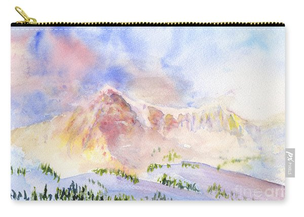 Sunrise On Mount Ogden Carry-all Pouch
