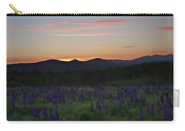 Sunrise Over A Field Of Lupines Carry-all Pouch