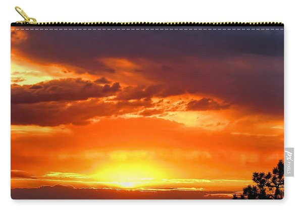 Sunrise Over Keystone Carry-all Pouch
