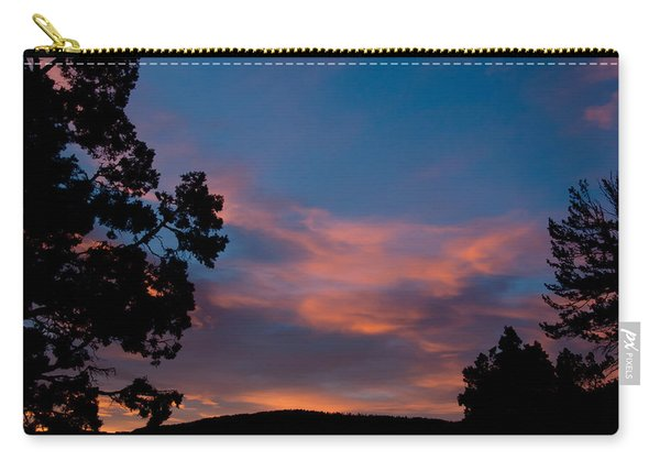 Sunrise Over Mammoth Campground Carry-all Pouch