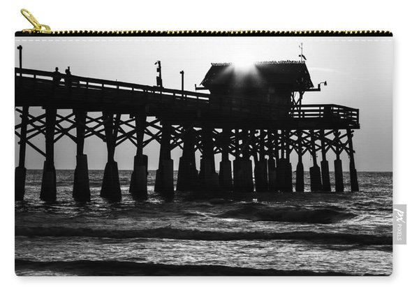 Sunrise Over Pier Carry-all Pouch