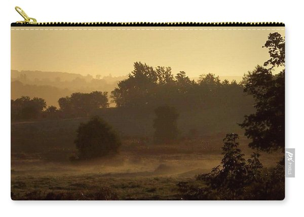 Sunrise Over The Mist Carry-all Pouch