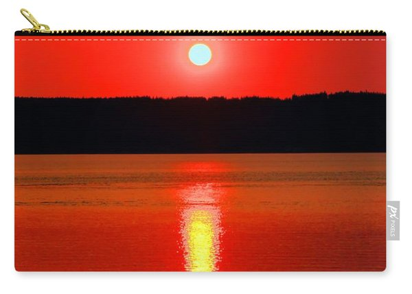 Sunrise Over Whidbey Island Carry-all Pouch
