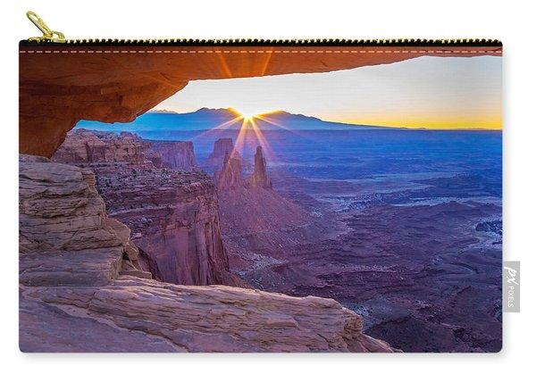 Sunrise Through Mesa Arch Carry-all Pouch