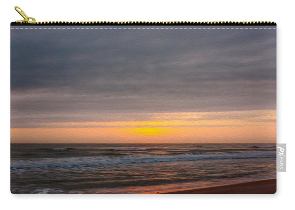 Sunrise Under The Clouds Carry-all Pouch
