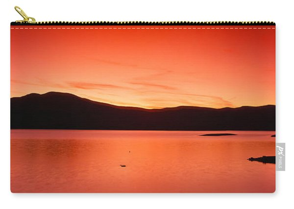 Sunset At Ashokan Reservoir, Catskill Carry-all Pouch