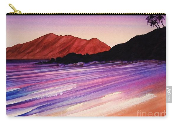 Sunset At Black Rock Maui Carry-all Pouch