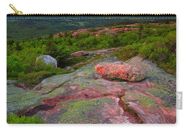 Sunset At Cadillac Mountain Carry-all Pouch