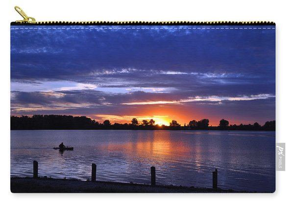 Sunset At Creve Coeur Park Carry-all Pouch