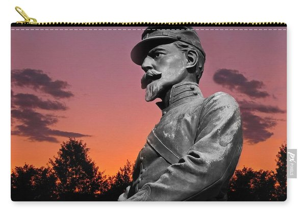 Sunset At Gettysburg  Carry-all Pouch