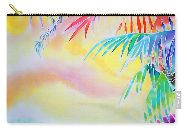 Sunset At Kuto Beach Carry-all Pouch