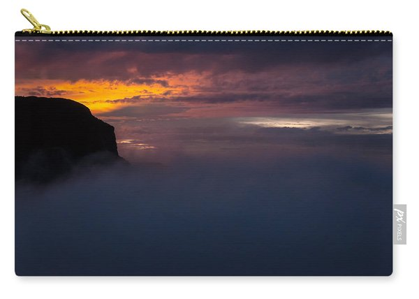 Sunset At Nevado Del Ruiz Carry-all Pouch