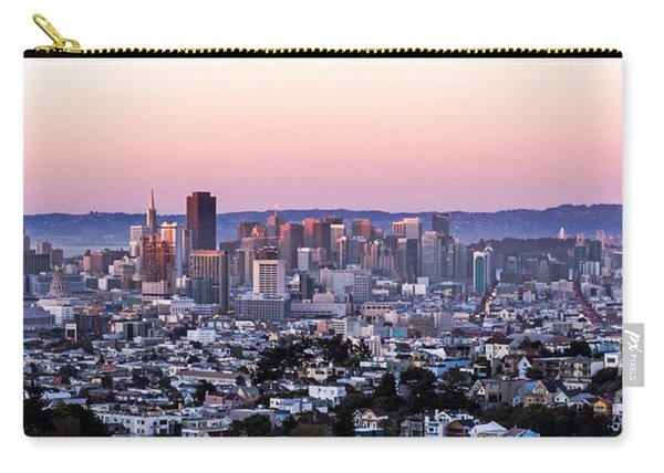 Sunset Cityscape Carry-all Pouch