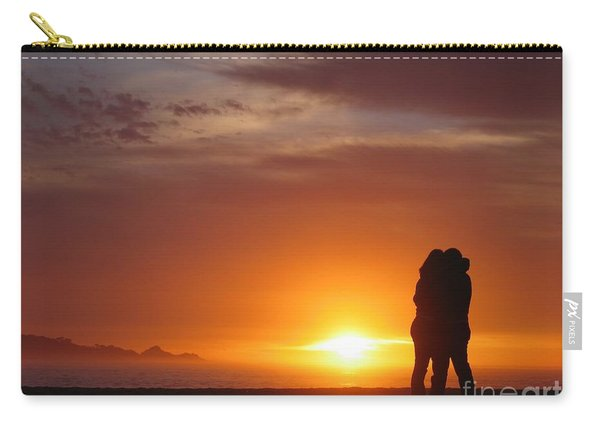 Sunset Cuddle Carry-all Pouch