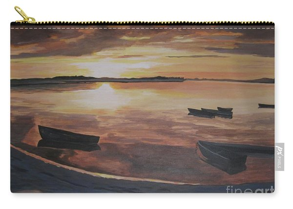Sunset Evening Tide Carry-all Pouch