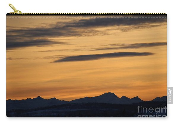 Sunset From 567 Carry-all Pouch