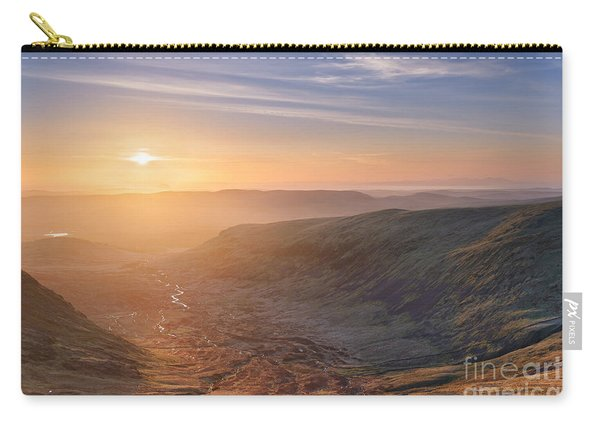 Sunset From The Merrick Carry-all Pouch
