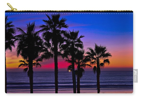 Sunset From The Ocean Park Inn Carry-all Pouch